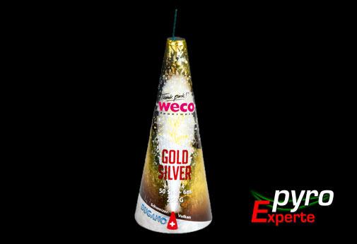 Bugano-Vulkan Gold Silber