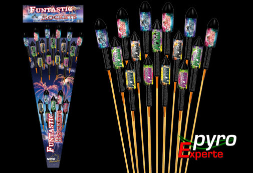 Funtastic Rockets 15er
