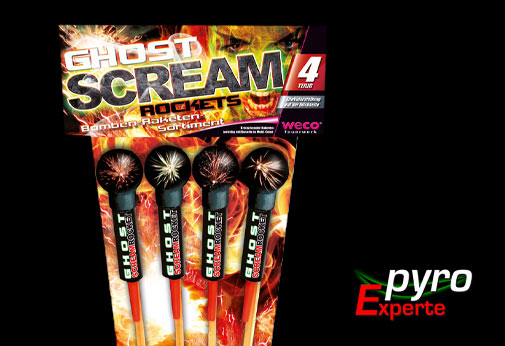 Ghost Scream Rockets