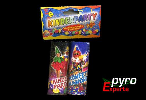 Kinderparty Tischbomben 2er