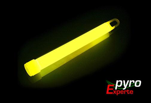 Knicklicht Leuchtstab Gelb