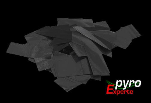 Metallic Flitter schwarz 1kg