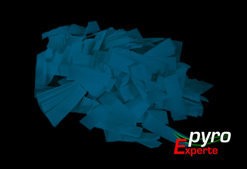 Papier Flitter blau 1kg