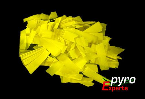 Papier Flitter gelb 1kg