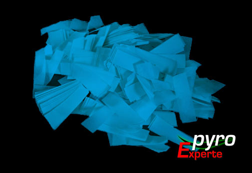 Papier Flitter hellblau 1kg