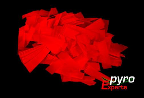 Papier Flitter rot 1kg