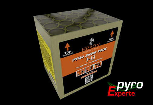 Pyro Show Pack 1-13