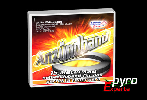 Tapematch, Anz�ndband 15m