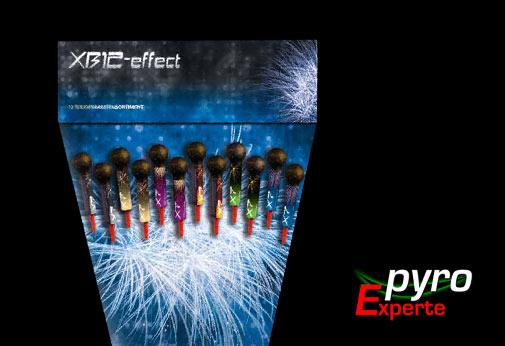 XB12 Effektraketen